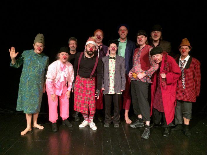 Föreställningen på Teater Giljotin
